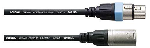 CORDIAL 1,5 m XLR-Mikrofonkabel