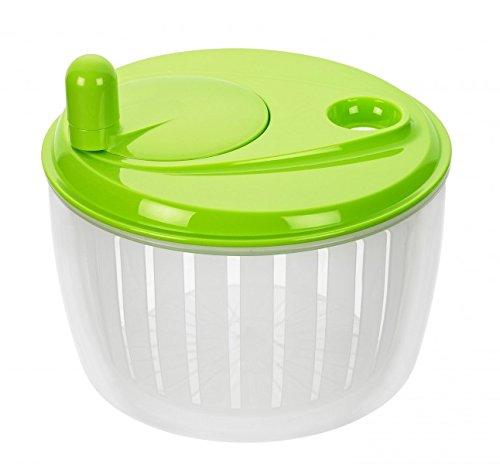 Lurch 10220 Salatschleuder mit Kurbel grün