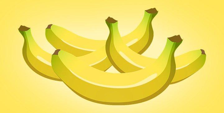 Titelbild: Bananen vor einem gelben Hintergrund