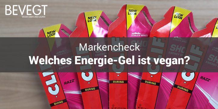 Titelbild: Energie-Gel-Päckchen von Clif Bar