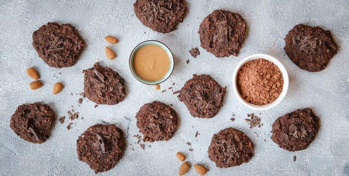 Titelbild: Vegane Post-Run-Cookies