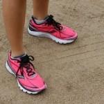 Laufschuhe in rosa