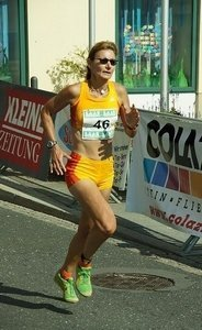Die vegane Marathonläuferin Ursula Visconti
