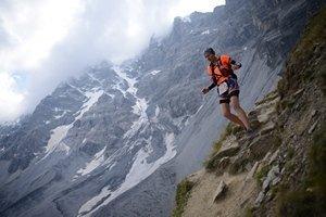 Babett beim Transalpine-Run 2013