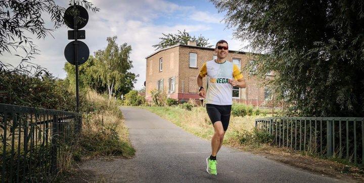 Titelbild: Daniel beim Laufen