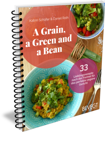 Buchcover: A Grain, a Green and a Bean