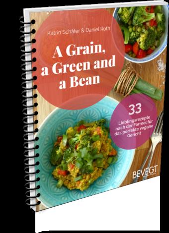 Buchcover: A Grain, a Green and a Bean