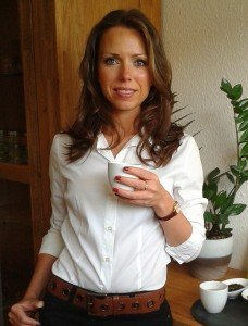 Die Tee-Expertin Nina Knab