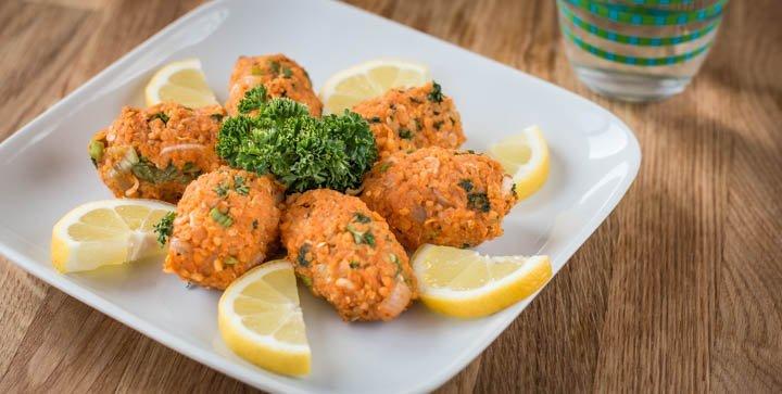 Vegane CigKöfte - als Snack, Fingerfood oder zu Salat einfach lecker!