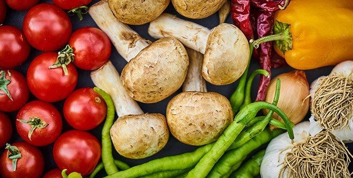 Titelbild: Verschiedene Gemüsesorten