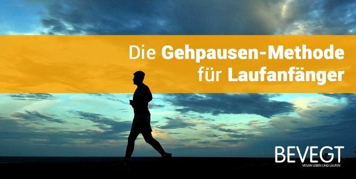 Ein Läufer vor dem Horizont