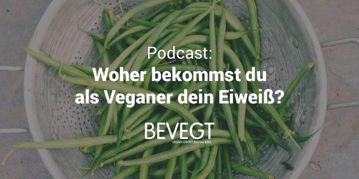 Podcast: Woher bekommst du als Veganer dein Eiweiß?