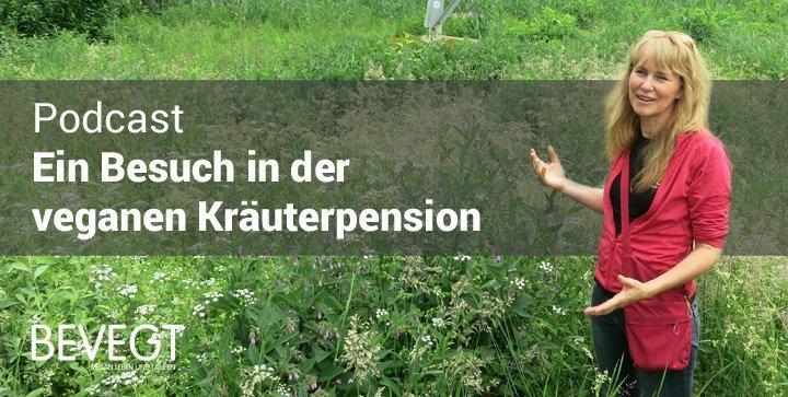 Heidruns veganer Weg: zu Besuch in der veganen Kräuterpension in Hanau