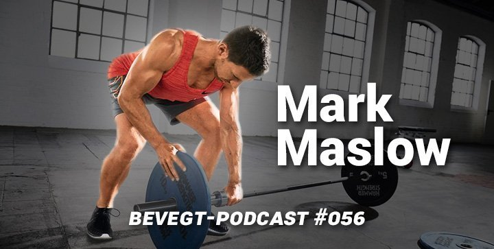 Titelbild: Fitnesscoach Mark Maslow beim Hanteltraining