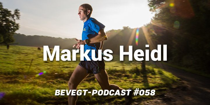 Markus Heidl: Laufen hilft immer!