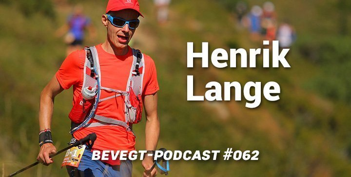 Titelbild: Henrik Lange bei einem Ultratrail-Lauf