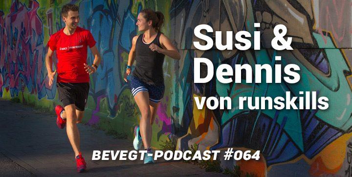 """Susi und Dennis von runskills: """"Beim Laufen gibt es nur Gewinner"""""""