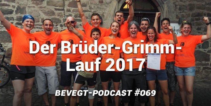 Titelbild: Das Team beVegt.de beim Brüder-Grimm-Lauf 2017