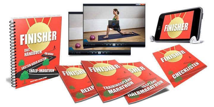 Finisher: Das Handbuch für deinen ersten oder besten (Halb-)Marathon