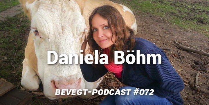 Die Autorin und Tierrechtlerin Daniela Böhm