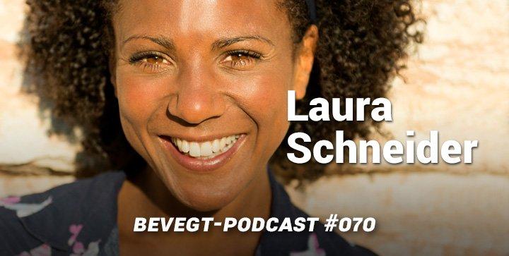 Titelbild: Die vegane Schauspielerin und Moderatorin Laura Schneider