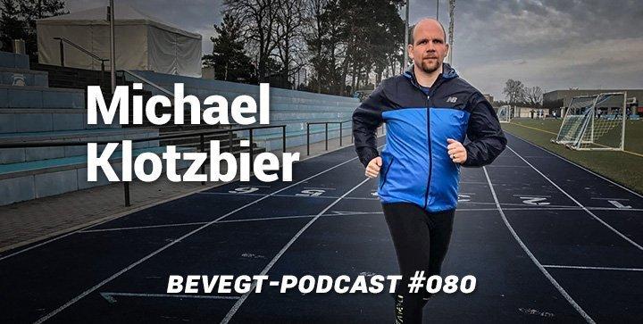 Titelbild: Michael Klotzbier beim Lauftraining auf der Bahn