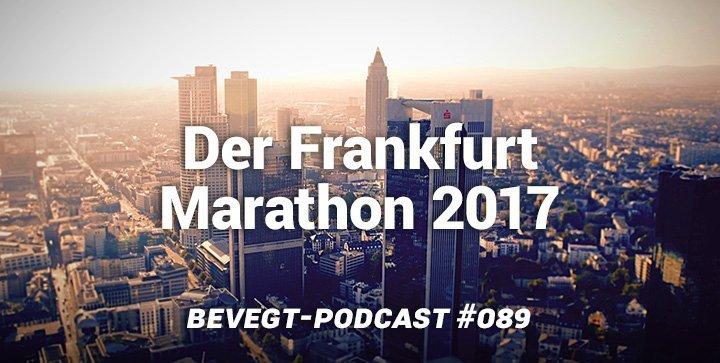 Wettkampfbericht: Frankfurt Marathon 2017