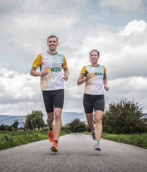 Daniel und Katrin beim Laufen