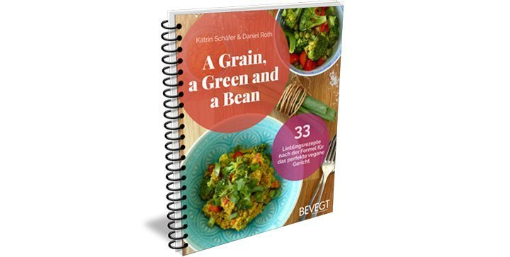 "Buchcover ""A Grain, a Green and a Bean 1"""