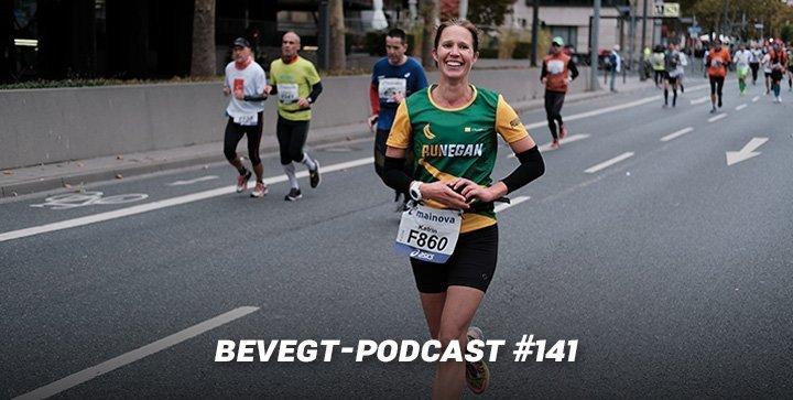 Titelbild: Katrin beim Frankfurt Marathon 2018
