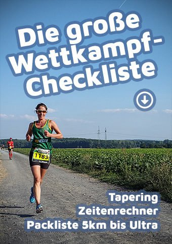 Cover: Die große Wettkampf-Checkliste