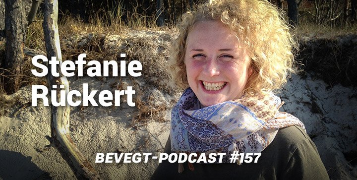 Titelbild: Die Bloggerin und Podcasterin Stefanie Rückert