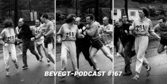 Titelbild: Die berühmte Rangelei zwischen Katherine Switzer und Renndirektor Jock Semple beim Boston Marathon 1967 - Foto: The Boston Herald