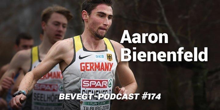Aaron Bienenfeld ist einer der besten deutschen Nachwuchsläufer