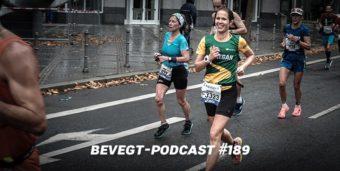 Katrin bei Kilometer 41 des Frankfurt Marathon 2019