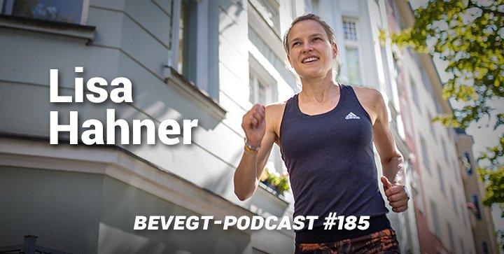 Lisa Hahner von den Hahnertwins beim Laufen