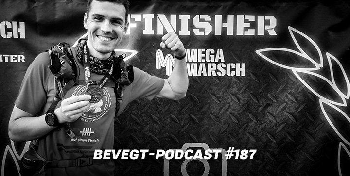 """Daniel ist jetzt """"mega"""": Erfahrungsbericht vom 100 km Megamarsch Frankfurt 2019"""