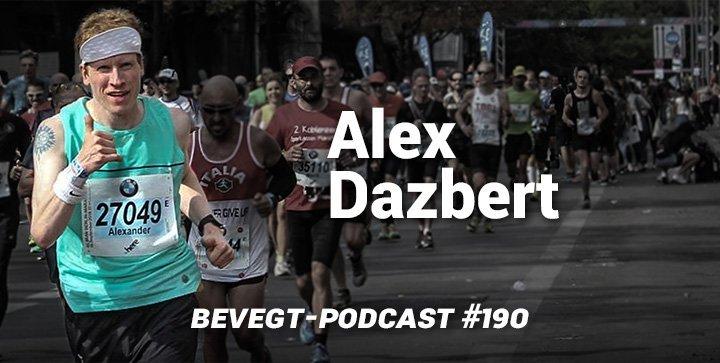 Alex Dazbert im Teilnehmerfeld eines Marathons