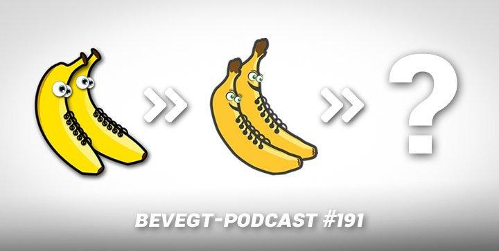 Die frühere und die aktuelle Version der beVegt-Bananen