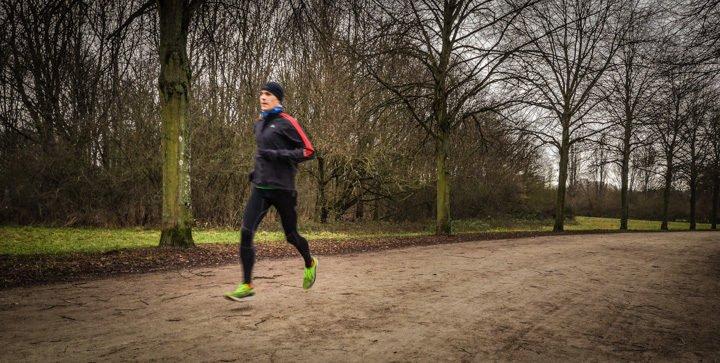 Daniel beim Laufen im Frankfurter Niddapark