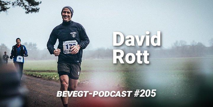 David Rott ist Schauspieler und veganer Läufer
