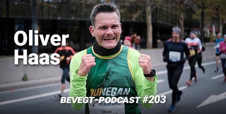 Titelbild: Oliver Haas kurz vor dem Zieleinlauf beim Frankfurt Marathon 2018