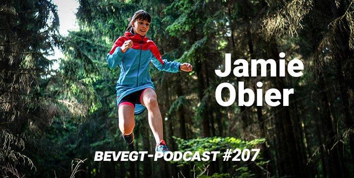 Die Ultramarathonläuferin Jamie Obier