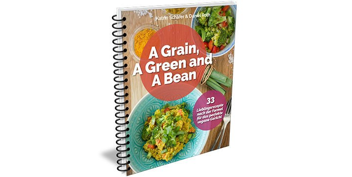 Buchcover: A Grain, a Green and a Bean 1