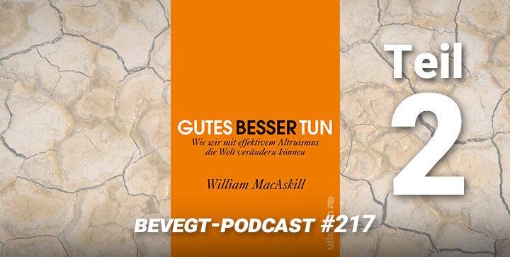 """Titelbild: Das Buchcover von """"Gutes besser tun"""" von William MacAskill"""
