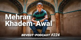 Der Marathonläufer Mehran Khadem-Awal im Iran