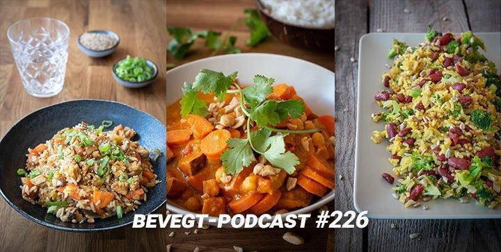 Titelbild: Drei eiweißreiche vegane Gerichte