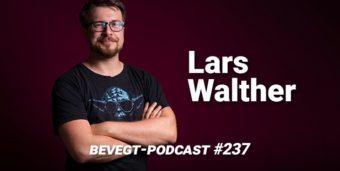 Titelbild: Der vegane Schauspieler, Filmemacher und Podcaster Lars Walther