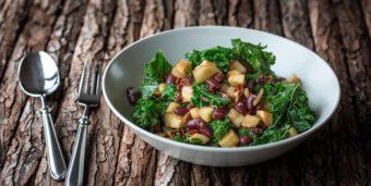 Herbstliche Pastinaken-Grünkohl-Pfanne à la Grain-Green-Bean