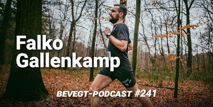 Der Ultramarathonläufer Falko Gallenkamp bei einem Rennen
